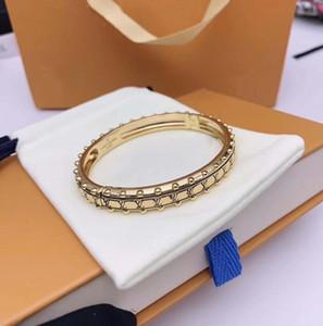 Neue galvani dicke Goldarmbänder Voll Brief Designer Armband Luxus Frau wilden Modedesigner
