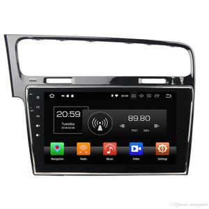 "4GB + 64GB Octa Çekirdek 1 din 10.1"" Android 8.0 Araç DVD Oynatıcı VW Volkswagen Golf 7 2013 2014 2015 RDS Radyo GPS WIFI, Bluetooth Ayna-link"