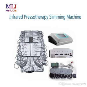 Free shipping Portable 3 in 1 far infrared ems therapy pressotherapy lymphatic drainage body slimming machine