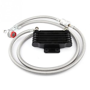 1Set Durable 85ml Ölkühler Motoröl Cooling Kit Kühlersystem für GY6 100CC-150CC Einfache Motor-Zubehör Installation