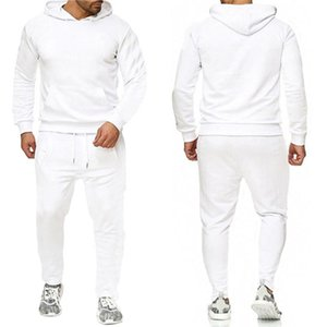 Tracksuit For Men 2 Pieces Set New Fashion Jacket Sportswear Mens Tracksuit Hoodie Spring Autumn Clothes Hoodies+Pants