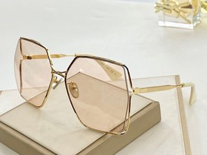 New fashion 0817 sunglasses connected lens square frameless sunglasses popular goggle top quality come with case 0817S