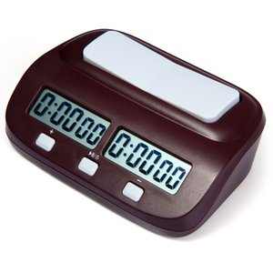 Chess Clock Digital Count Up Down Electronic Game Timer Professional Chess Player Set Portable Handheld Master