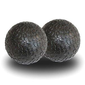 2 pezzi fitness sfera di massaggio Lacrosse palle Epp piede Relax alleviare la fatica Gym Training Pain Relief Fascia Hockey sfera