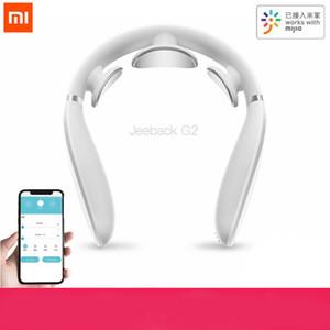 Xiaomi Jeeback cervicale Massager TENS G2 Pulse Torna Massager del collo riscaldamento di Infrared lontano Health Care Relax Lavora con Mijia App
