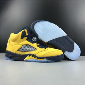Новая версия Special Edition 5 SP Мичиган Inspire Man Basketball Дизайнерская обувь Inspire Амарилло колледж ВМС Амарилло моды кроссовки