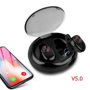 Auricular Bluetooth con V4.2 + EDR Sonido Estéreo V5 Auricular inalámbrico Micrófono incorporado Llamadas manos libres Auriculares Bluetooth TWS