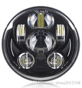 Motocicleta 5-3 / 4 5.75 linterna del LED para 883, sportster, triple, bajo jinete, Wide Glide del faro proyector de luz de conducción