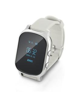 T58 relógio inteligente Crianças Criança Elder Adulto GPS Tracker inteligente Relógio de pulso pessoais Locator GSM Tracking Device LBS WiFi Chamada Grátis