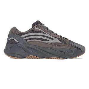 En kaliteli kanye batı koşu ayakkabıları 700 Dalga Runner Atalet Yansıtıcı Tephra kutusuyla Katı Gri Utility Siyah Vanta Erkekler Kadınlar Sneakers