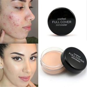 Popfeel Rosto Corretivo Creme Rosto Capa Defeito Blemish Esconder Ponto Escuro Lábio Contorno Maquiagem Líquido Fundação Maquiagem