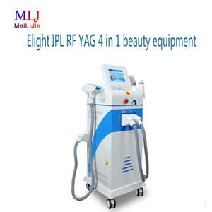 Elight professionnel IPL RF YAG 4 en 1 équipement de beauté, magnéto-optique multi-function360, rousseur, aller à la mélanine, l'épilation