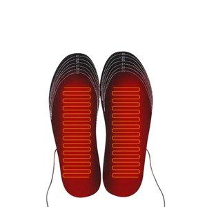 1 Çifti USB Isıtmalı Tabanlık Ayak Isınıyor Pad Ayaklar Isıtıcı Çorap Pad Mat Kış Doğa Sporları Isıtma Ayakkabı tabanlık Kış Sıcak