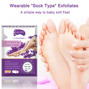 Lemon Aloe Exfoliating Foot Mask Hand Mask Socks Peel Off Remove Dead Skin Foot Care Foot Spa Treatments 2 Pieces=1 Pair 54g