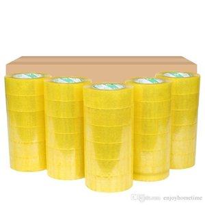 A 4 لفات الكرتون ختم واضح التعبئة شحن صندوق Tape- 2 Mil- 2inch وس 33 ساحات مكتب فيلم لاصق الشريط هدية الربط