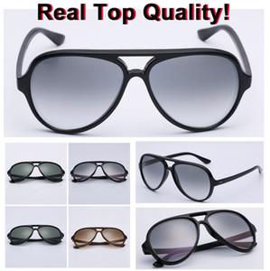 عدسة زجاجية 2020 كلاسيك تصميم aooko مع wapiti01 العلامة التجارية نظارات UV400 الأزياء الكل Fitreal مكبرة 4125 الشمس نظارات شمسية رجالية القط 5000