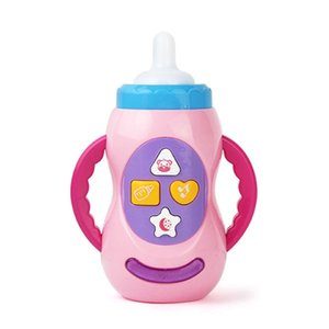 Baby Kids Children Safe Sound Music Light Milk Bottle Learning Musical Feeding Tool Educational Baby Bottle Toys