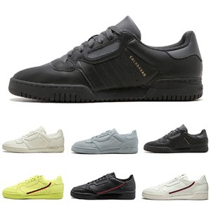 Top Calabasas Powerphase White Continental 80 Casual shoes Kanye West Pure Core black OG white Men women Trainer Sports Sneakers