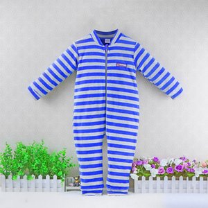 Children Double layer thinker winter Outside velour+pure cotton inside warm rompers for 2 to 5 years old baby long sleeve suits Y200704