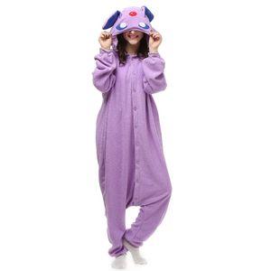 New Animal Adult Umbreon Pigiama Cartoon Espeon Kigurumi Onesies Costumi Cosplay Unisex Sleepwear Christmas Gift