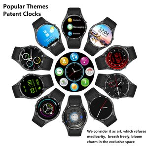 """KW88 GPS Smart Watch Heart Rate Waterproof WIFI 3G LTE Wristwatch MTK6580 Android 1.39"""" Wearable Devices Bracelet For Android iPhone Phone"""