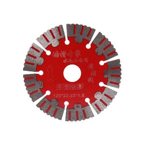 Cutter'lara Mermer Beton Porselen Karo Granit Kuvars Taş oturması için ucuz Testere Blades 125mm Testere Kuru Kesim Disk Süper İnce