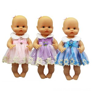 Yeni Moda Bebekler Aksesuar elbise Giyim 3335cm Nenuco Doll Nenuco su hermanita Doll Aksesuarlar Fit