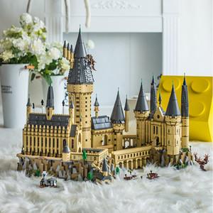 71043 Hogwarts Castello Harryed Ceramica Building Blocks Scuolabus Magico mattoni film fai da te giocattoli per i bambini delle ragazze dei ragazzi del bambino regalo T200327