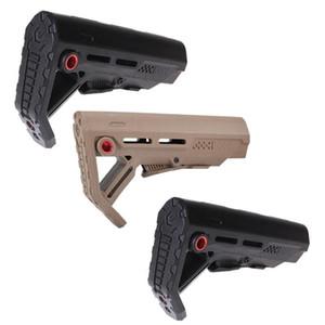 2020 новый drop-in запас замены тактический ударопрочный приклад для AR15 / M16 Mil Spec Buffer Tube QD sling mounting Toys