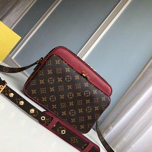 캔디 가방 최고 품질 NIL SLIM 진짜 가죽 메신저 가방 남성 슬링 백은 상자 A017와 크로스 바디 가방 패션 남성 지갑 캔버스