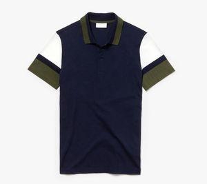 Bureau d'affaires en gros Polo Nouvelle Marque Vêtements Homme solides Hommes Crocodile Broderie Polos Casual Poloshirt Coton respirant