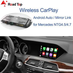 안드로이드 자동 미러 링크 AirPlay를 자동차 재생 기능과 함께 메르세데스 벤츠 C 클래스 무선 CarPlay 인터페이스 W204 2011-2014,