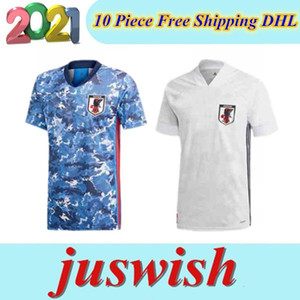 2020 Japan Soccer jerseys 2021 TSUBASA ATOM cartoon number fonts home Football shirts top Thailand quality uniforms