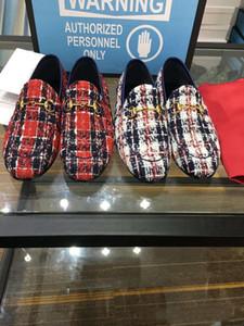 2019 son açık yönlü düz sürüş ayakkabı klasik marka erkek bezelye ayakkabı moda klasik rahat lüks ayakkabı