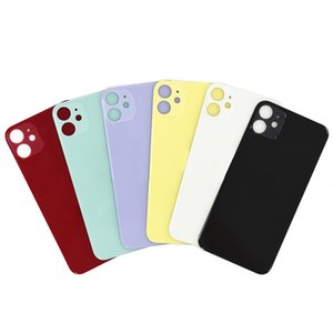 Back Glass Housing Cover Big Hole Back Glass Battery Cover Rear Door Housing Case for iphone X 11 pro max
