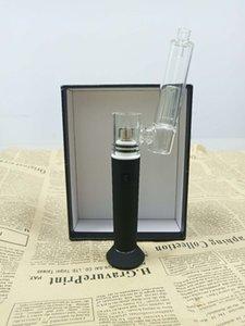 CPENAIL Vape Pen Starter Kit 1100mAh Dab Rig GR2 Pure Titanium Portable Wax Vaporizer Ceramic Quartz Electric H E Nail Glass bongs