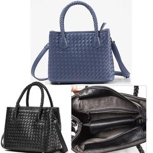 bolsa das mulheres simples e elegante, bolsa de couro tecidos feitos à mão, saco de straddle. saco de boa qualidade Tote. Envio Grátis