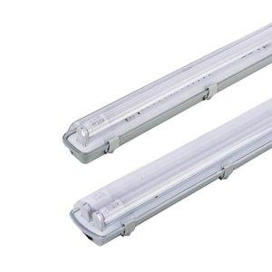 LED가 튜브 라이트지지 브래킷이 증명 방진 방폭 Crestech LED 고정 T8은 4 피트 젖은 1 .2m 트라이하는 서류