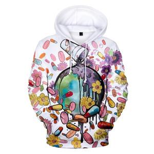 Sterne Juice Wrld Hoodies Männer Frauen Sweatshirts Singer Juice Wrld 3D Hoodie der Männer mit Kapuze Winter-Hip Hop Hoodies Plus size