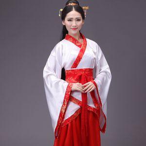 Abbigliamento etnico Costumi cinesi Fata Danza Abiti Abito Treno e costumi teatrali Studente Costume Laurea Sdult Cerimonia