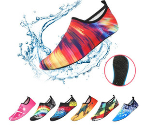 Wasser rosa Socken Damen-Herren-Socken Dry Scuba-Boot-Schuhe Anti-Rutsch-Socken-Tauchen Wassersport Strand Socken Schwimmen Surfen Neoprenanzug Schuhe