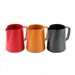 400 ml Kaffeetasse Edelstahl Aufschäumen Pitcher Latte Art Milchschaum-Werkzeug Kaffee Krug Milch Espresso Krug