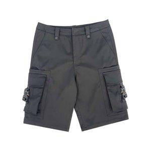2020 moda verão cintura ajustável design de botão de cânhamo de algodão material macio e fresco calções calças ~ calças de alta qualidade zdl06230.