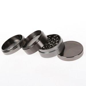 40mm 4 Katmanlar Sharpstone Tütün Öğütücü Metal Taşlama El Muller Biber Öğütücü CNC Diş Öğütücüler Aksesuarlar CCA-11805 30pcs Sigara