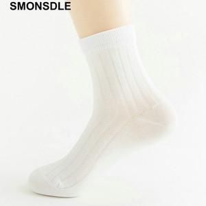 Smonsdle Socks Calze da uomo in cotone color selvatico Tc Pure Color Scuro Regalo verticale in The Tube Calze da uomo 2019 Calze nuove Q190401