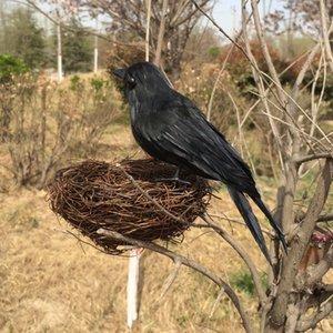 Realistische künstliche Gefiederte Birds Home Garten Decor Foto Props Craft