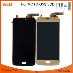 "Per Motorola Moto G5S XT1792 XT1793 XT1794 Display LCD Touch Screen Digitizer Assembly Sostituzione per Motorola G5S 5.2 ""LCD"