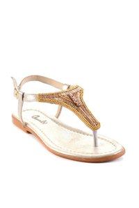 Bambi Altın Kadın Sandalet H06250204