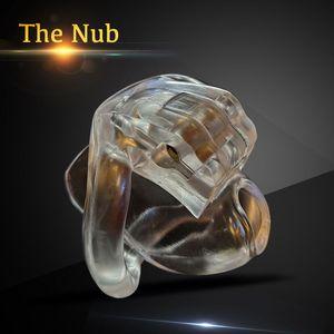 Nub из HT V3 Мужской Целомудрие устройство с 4 кольцами Новых поступлений