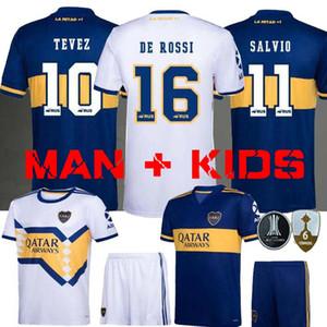 2020 2021 Boca Juniors futebol Jersey Casa Fora 20 camisa de futebol esportes TEVEZ MARADONA MOURA Abila REYNOSO DE ROSSI JRS 21 Boca Juniors